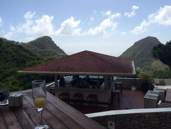 Queen's Gardens Resort & Spa: View from the restaurant