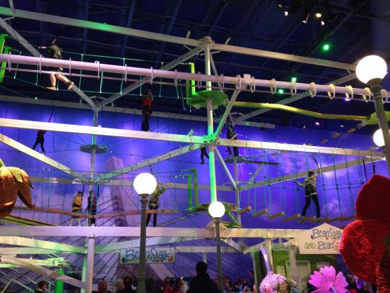 Beanstalk Adventure Ropes Course