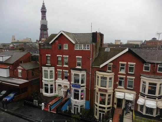 Fairhaven Hotel Blackpool: Great view!