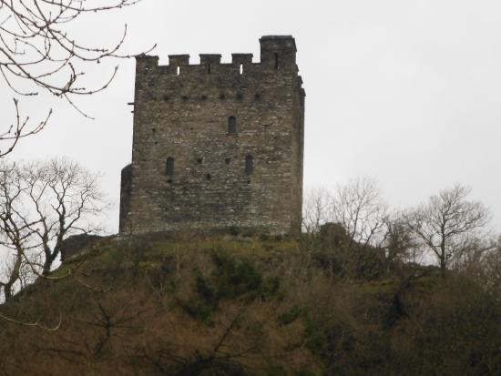 Garth Dderwen Guest House: Dolwyddelan Castle, nearby.