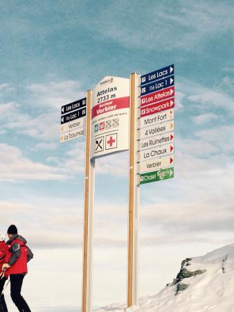 Mont d'Arbois Ski Area: Top of the world