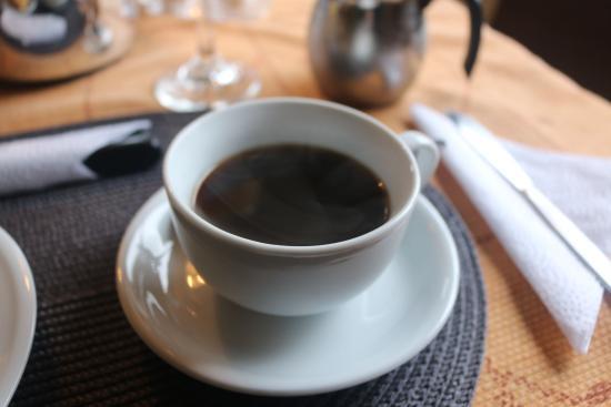 Magic Stone: Fresh Coffee with Breakfast