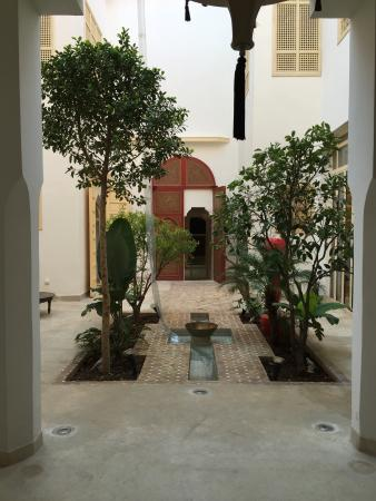Riad 144 Marrakech : le patio