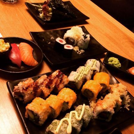 sushi rotterdam iens