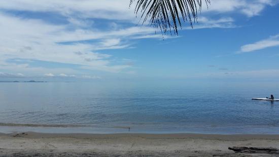 Hotel Villa Caribe: Playa blanca