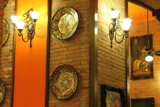 Hotel Riu Palace Pacifico Guacamole Restaurant Decor
