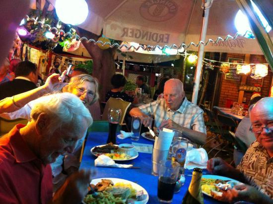Brigit & Bernard's Garden Cafe : Family style dining