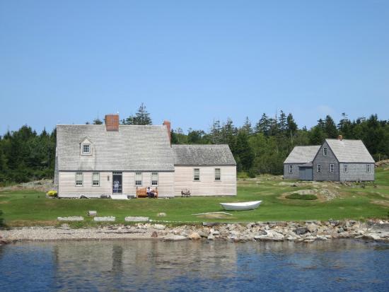 Monhegan Island: Home of Mrs. Andrew Wyeth