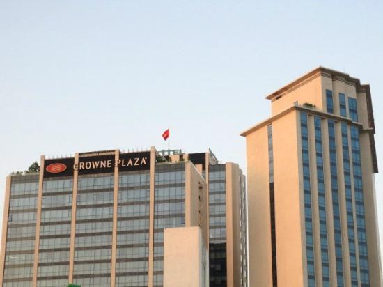 Crowne Plaza West Hanoi: 建物外観