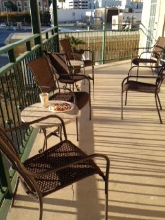 O'Brien Historic Hotel, an Ascend Collection Hotel: Sunny balcony
