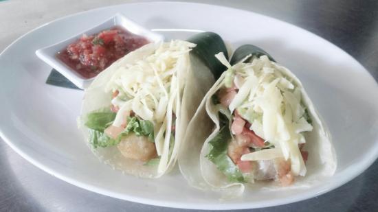 Seaside Restaurant Legian: Baja fish tacos