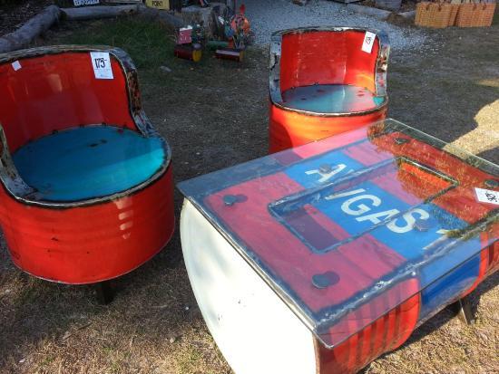 drum furniture. Iguana Beachwear Gifts U0026 Home Decor Recycled Drum Furniture L
