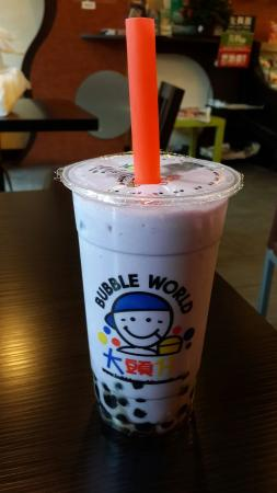 Bubble World Robson: Taro Milk Tea