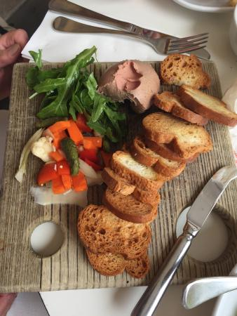 Customs House Hotel: Yum duck liver pate