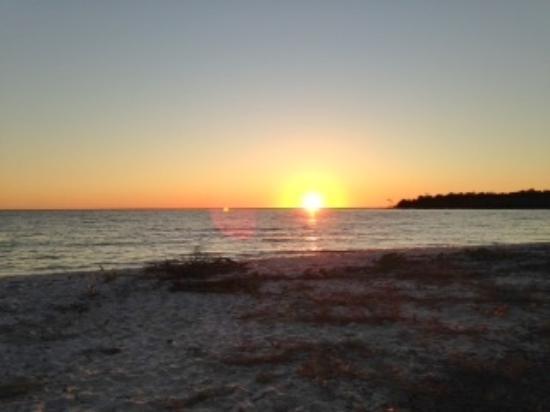Everglades Kayak Company: Sunset on Gulf of Mexico