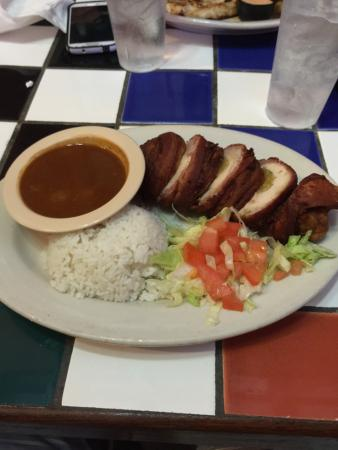 Lupi's: Yes a Mexican Restaurant with Chicken stuff Breast