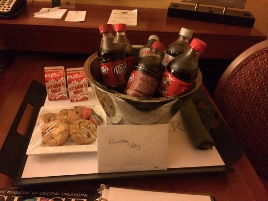 Embassy Suites by Hilton Norman - Hotel & Conference Center: Birthday surprise!