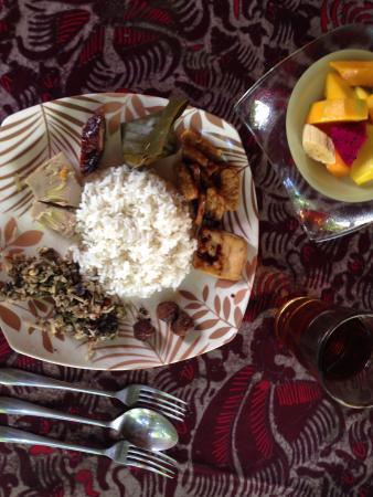 Villa Sabda: Balinese breakfast