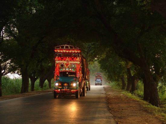 Tando Allahyar, Пакистан: Hyderabad-Mirpurkhas road