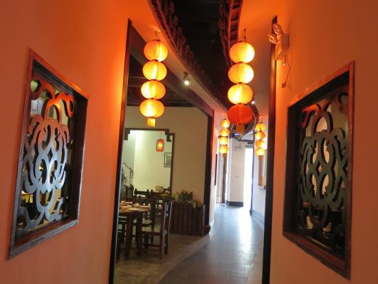 هوتل سول سوتزو: Chinese restaurant with congee hotpot