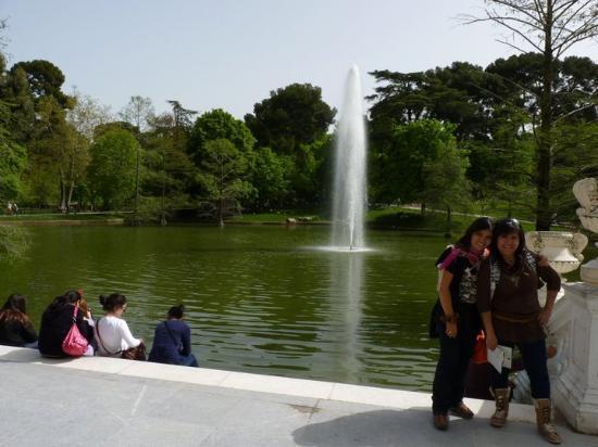 La laguna artificial del palacio picture of palacio de for Construir laguna artificial