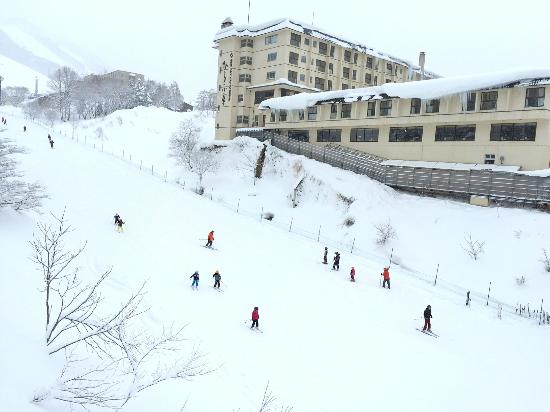 Niseko Village Ski Resort: Beginner's slope