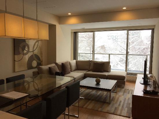 Shiki Niseko: The living room