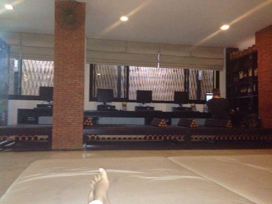 NapPark Hostel @ Khao San: Lobby e área de convivência