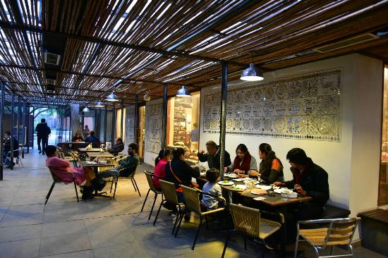 Cafe Lota: Outdoor Seating