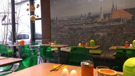 Hotel Cocoon Sendlinger Tor: sala colazione
