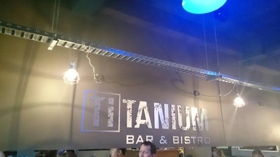 TiTANIUM Bar and Bistro
