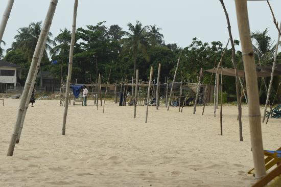 Lagos State, Nigeria: The beach.