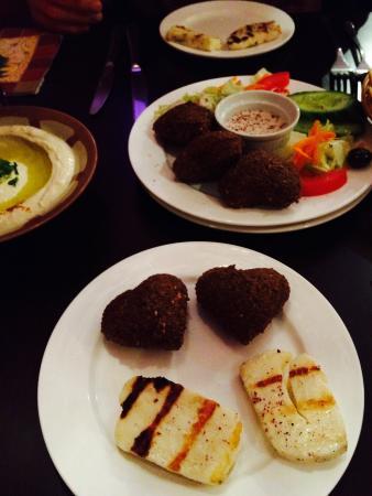 Rowsha: Heart falafel