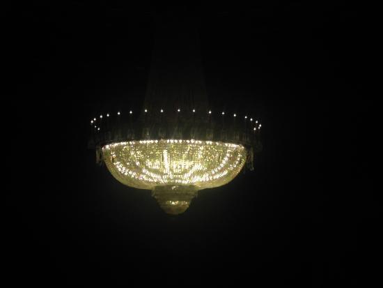 Eastman Theatre: The beautiful chandelier
