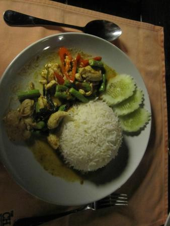 The Chalet Cuisine : Plat au curry rouge