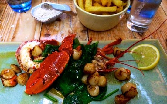 Tanroagan Seafood Restaurant: A tasty main course
