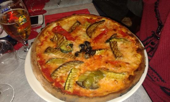 Il Pozzo Lungo: pizza vegetariana buonissima