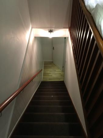 Best Western Annesley House Hotel: Stair in the apartment