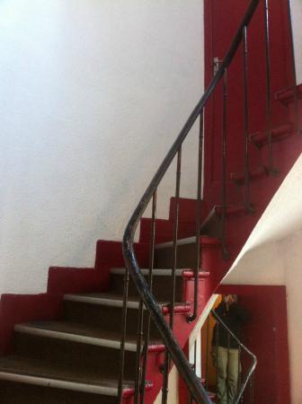 Luna Park Hotel: Stairs