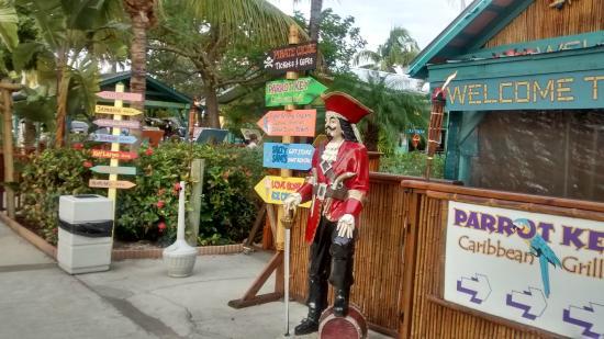 Parrot Key Caribbean Grill Restaurant Entrance