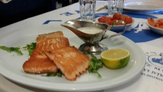 Rosemary - Fish Restaurant: Salmon at RoseMarine