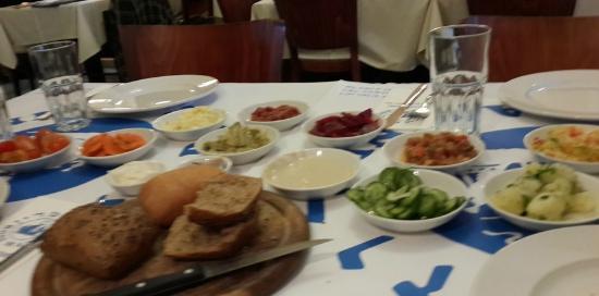 Rosemary - Fish Restaurant: Israeli tapas at RoseMarine