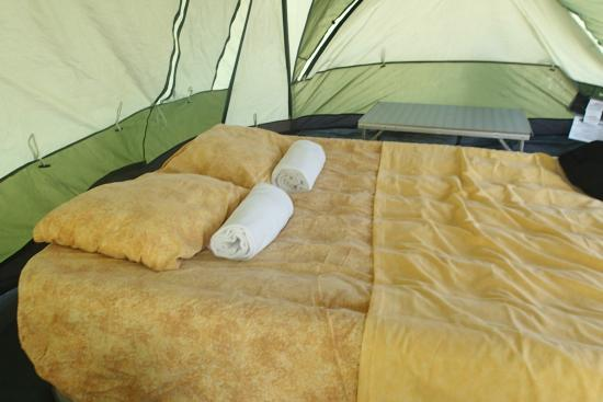 Mayan World Adventures: Our Tent