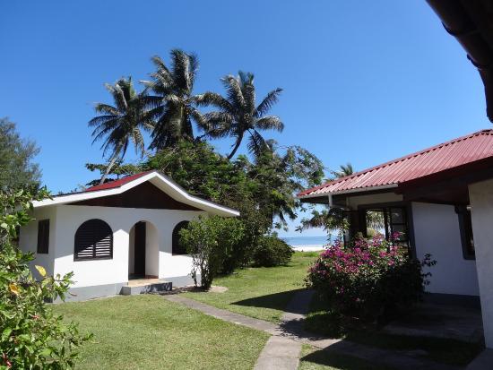 Beach Villa Seychelles: Erster Anblick beim ankommen