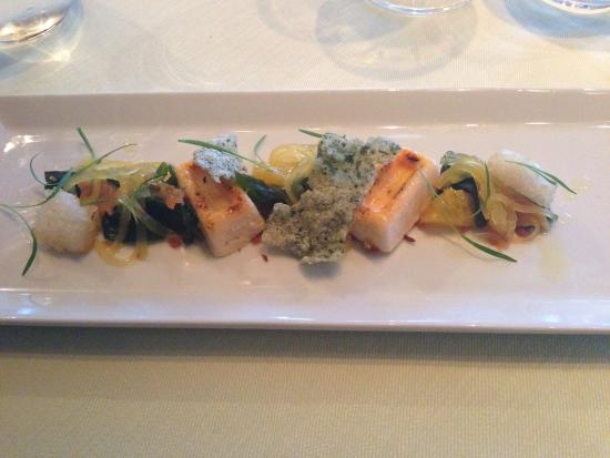 Seafood at the Marine: Starter