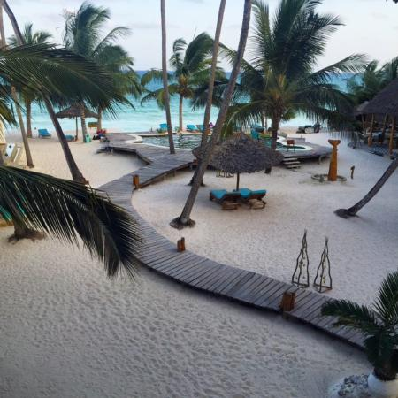 Waterlovers Beach Resort : View from the room
