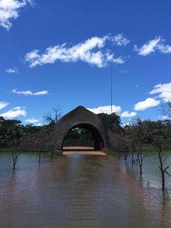 Zulu Camp: Entrance to Shambala