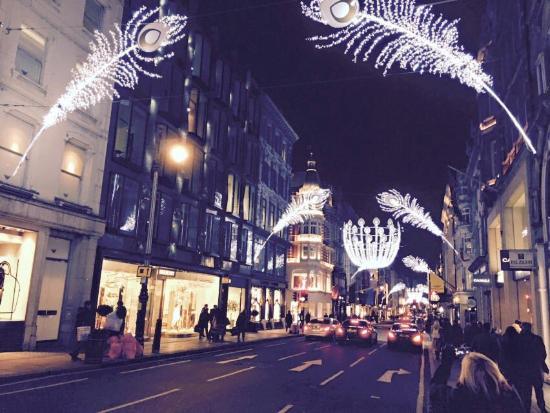 Westminster Walks : Christmas lights tour 2014