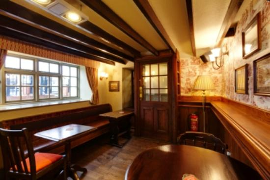 The Swan & Talbot: Our snug area