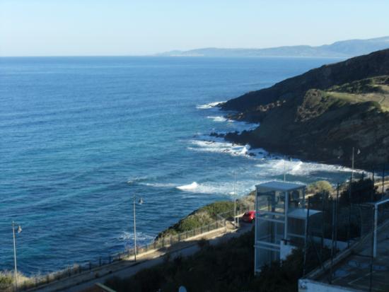 Hotel la Baia: panorama dal balcone